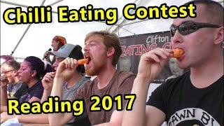 Chilli Eating Contest | Reading Chili Festival | Saturday June 2017
