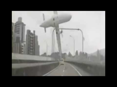 Аварии 2015(Падение самолета Тайвань!)
