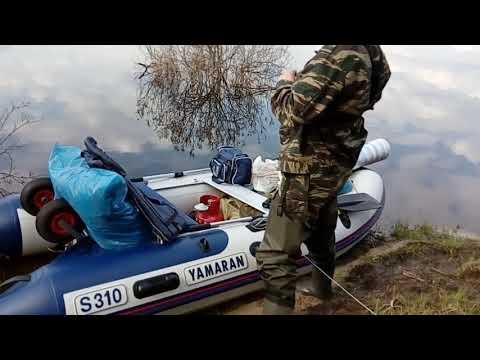 Сплав по реке Десна Сельцо Брянск весна 2018