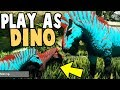 HUGE Play As Dino BREEDING UPDATE! Play As Dino Aberration!  - Ark Aberration Modded Gameplay