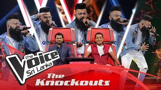 Shehan Dewage | Ridawana Jeewithe (රිදවනා ජීවිතේ) | The Knockouts | The Voice Sri Lanka Thumbnail