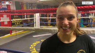 JADE TAYLOR: BOXING WHILST RAISING TWO CHILDREN - WAITING FOR THAT BIG BREAK