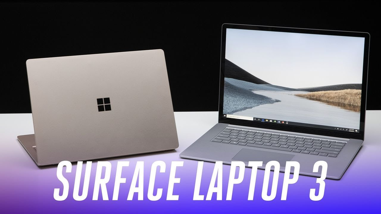 Surface Laptop 3 Hands On