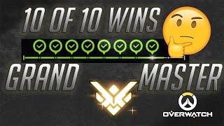 Как Калибровать Аккаунт? ⬛ Гранд Мастер за 10 побед? ⬛ 4 Season Overwatch