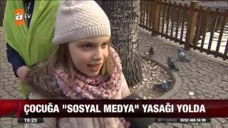 "Çocuğa ""sosyal medya"" yasağı yolda - atv Ana Haber"