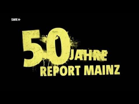 """""""50 Jahre Report Mainz"""" - Themen der Jubiläumssendung am Di., 26.4.2016, 21:45 Uhr im Ersten / Moderation: Fritz Frey"""