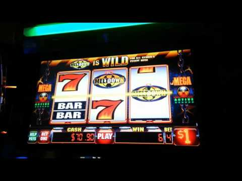 Slot machine progressive win