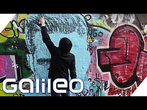Mit dieser Spraydose wird jeder zum Graffiti-Künstler   Galileo   ProSieben