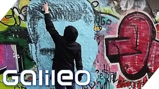 Mit dieser Spraydose wird jeder zum Graffiti-Künstler | Galileo | ProSieben