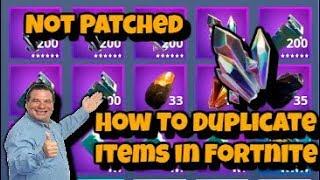 (Not Patched!!) How To Duplicate Materials in Fortnite!! New Glitch || Fortnite Save The World