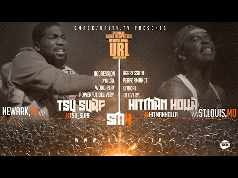 TSU SURF VS HITMAN HOLLA SMACK/ URL