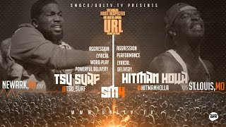 TSU SURF VS HITMAN HOLLA SMACK/ URL | URLTV