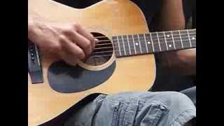 Donald Singer playing Guitar  2