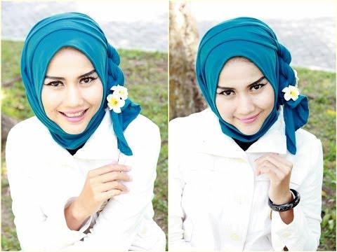 Tutorial Hijab Pesta dan Wisuda | Hijab Paris by Didowardah - Part #13