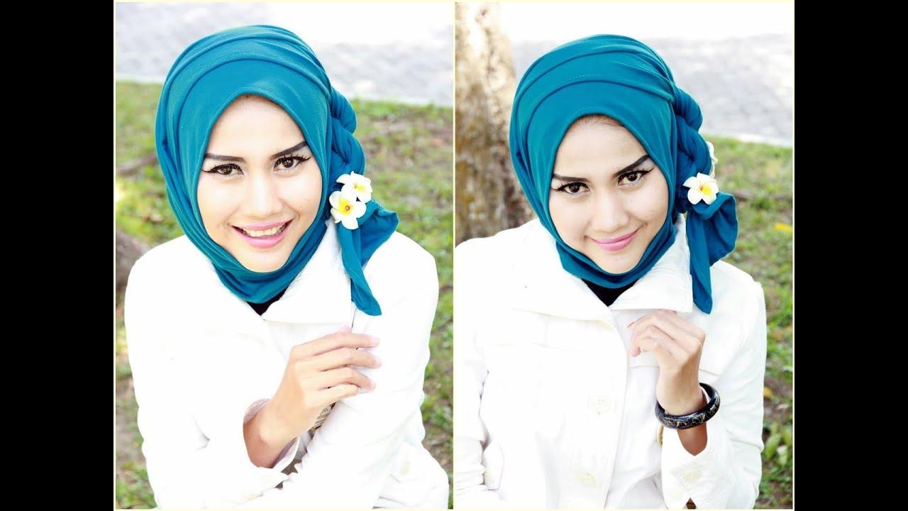 Tutorial Hijab Simple Pashmina Untuk Acara Santai By Didowardah