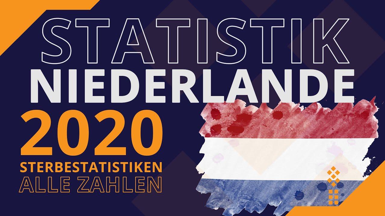#Sterbezahlen #Niederlande - Wie geht es unserem westlichen Nachbarn? Alle #Zahlen für #2020