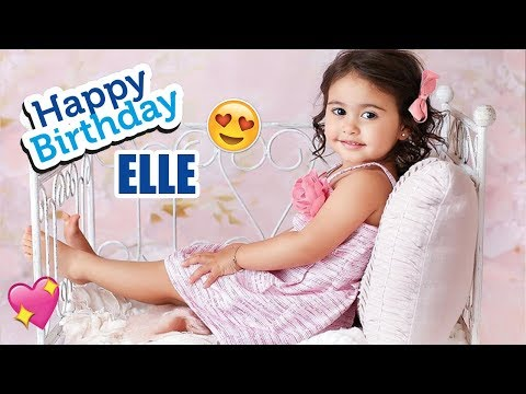 "Happy 2nd Birthday ""ELLE LIVELY MCBROOM"" 