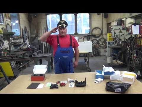 Eachine E013 Micro FPV RC Drone Quadcopter & Eachine EV100 FPV Goggles Unboxing
