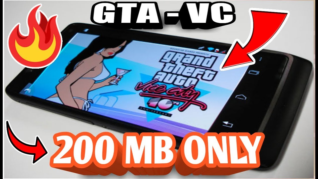 [200MB+Offline]GTA VICE CITY GAME FREE DOWNLOAD FOR ALL ANDROID DEVICES