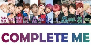 [Color Coded Lyrics] THE BOYZ - Complete me (Han/Rom/Eng) MP3