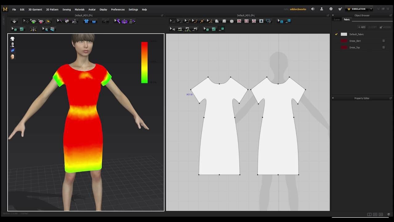 Marvelous designer doesnt create real world patterns youtube jeuxipadfo Images