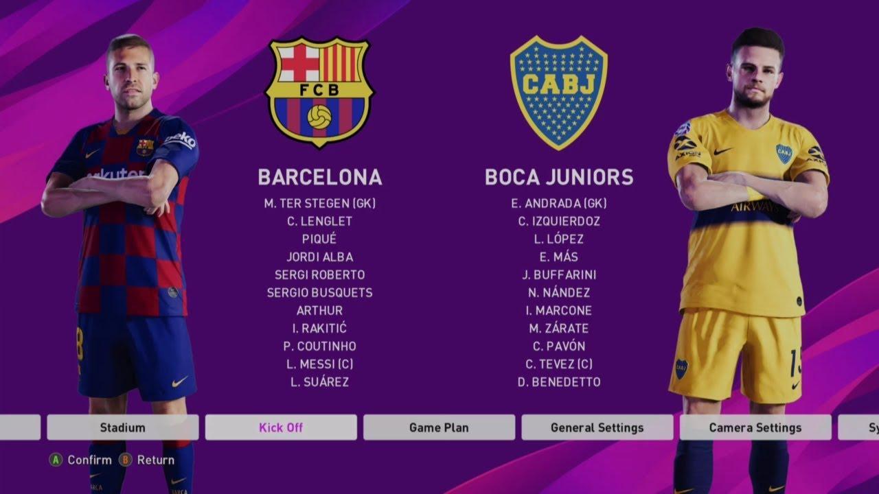 Image result for PES 2020 boca juniors