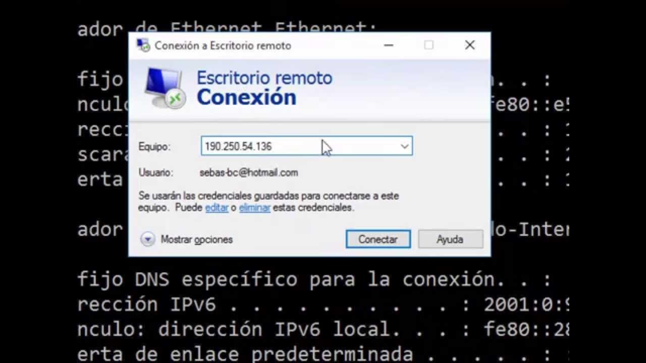 Configurar Escritorio Remoto En Windows 10 Y 8 Youtube