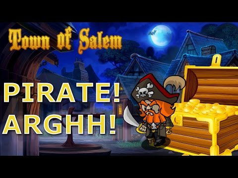 Pirate Gameplay | Town of Salem The Coven | New Role Gameplay