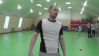 Беговые упражнения  cone drills