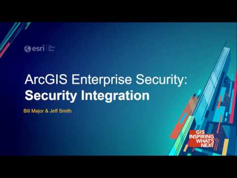ArcGIS Enterprise Security: Security Integration