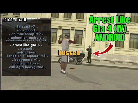 Arrest Like Gta 4 Cleo Scripts Gta San Andreas Android | 2020 Latest Cleo  Scripts