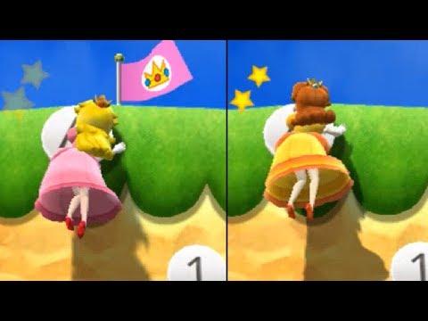 Mario Party 9 - Step It Up - Yoshi vs Peach vs Daisy vs Birdo Master Difficulty | Cartoons Mee