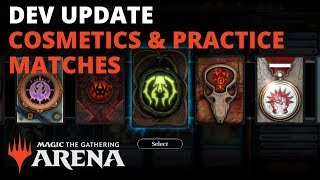 MTG Arena | Developer Update: Cosmetics & Practice Matches