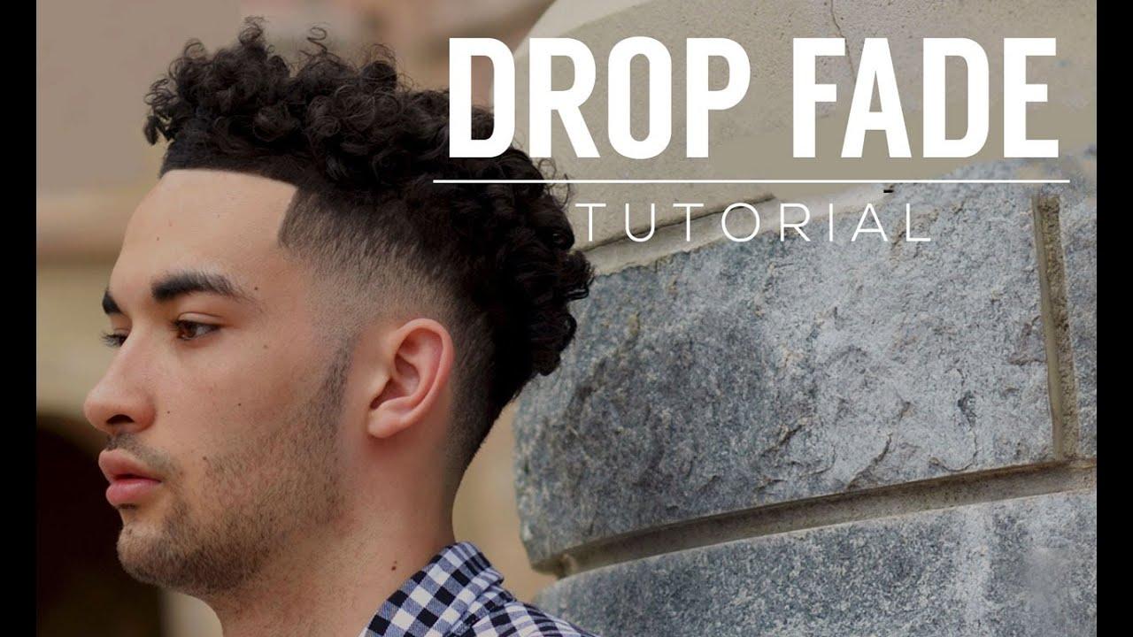 drop fade tutorial & curls
