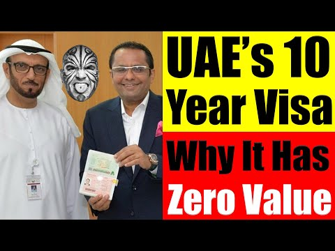 UAE 10-year 'Golden Visa'  - Why It Has ZERO Value For UAE Expats