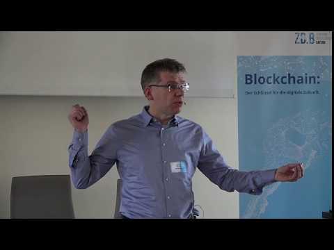 Dr. Carsten Stöcker: Blockchain: Eine technische Einführung