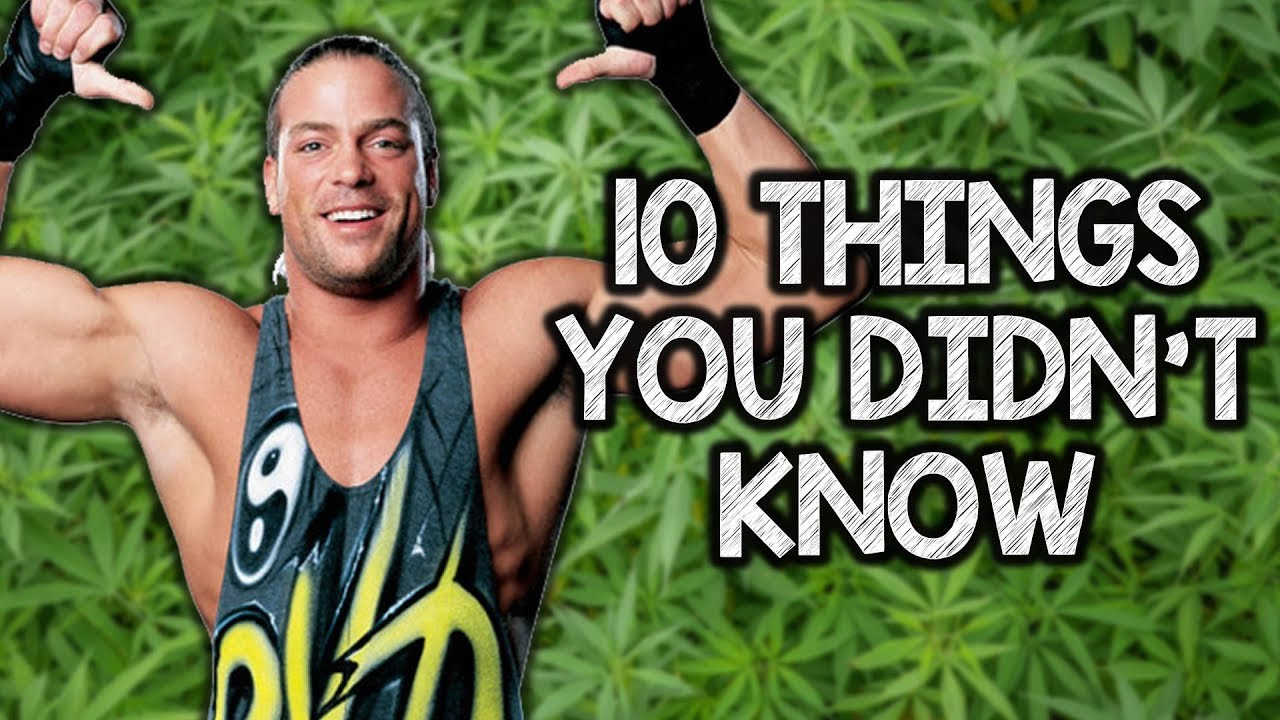 10 Things You Didn't Know about Rob Van Dam