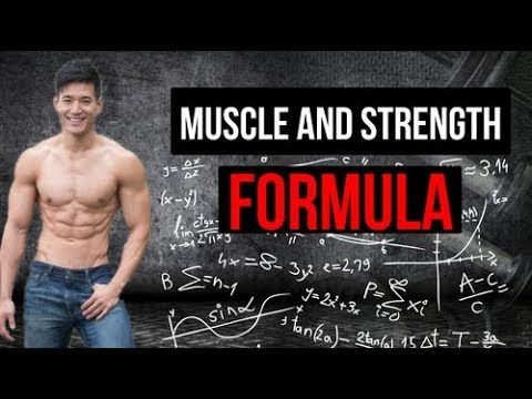Weight loss and bulking made easier with the muscle and strength formula