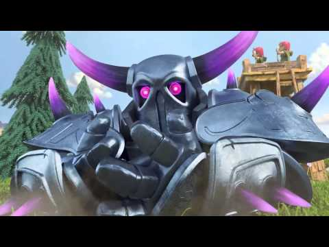 Clash of clans - P.E.K.K.A. ( Animated T.V. trailer )