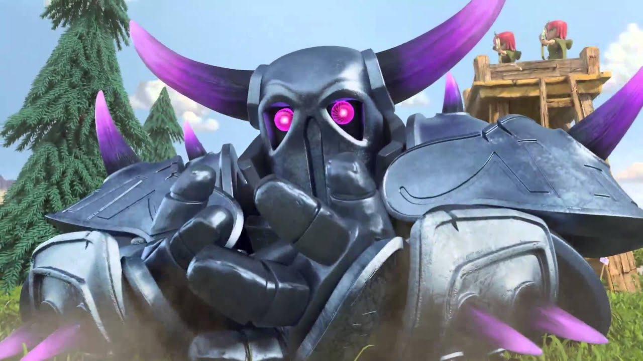 Clash Of Clans P E K K A Animated T V Trailer Youtube