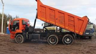 Самосвал КамАЗ 6520 6х4 20 кубов 2011 года