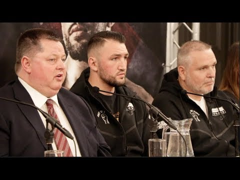 SAM SEXTON v HUGHIE FURY - (FULL & COMPLETE) PRESS CONFERENCE W/ MICK HENNESY & PETER FURY