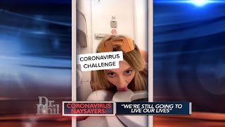 'I Was Really Annoyed That Coronavirus Was Getting More Publicity Than Me,' Says Woman Who Licked…