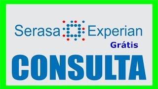 Consulta SERASA Online Grátis - Parte 2