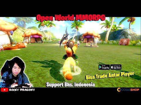 Game Mobile Open World MMORPG Yang Bisa Trade Antar Player !!!