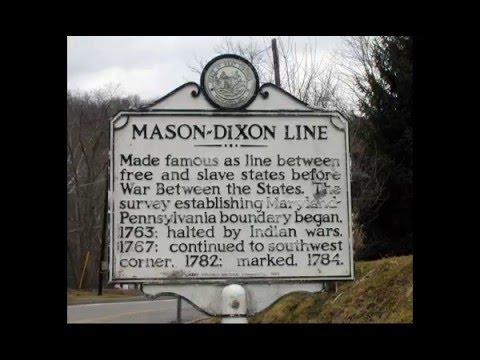 Mason-Dixon Line: Touring the western end