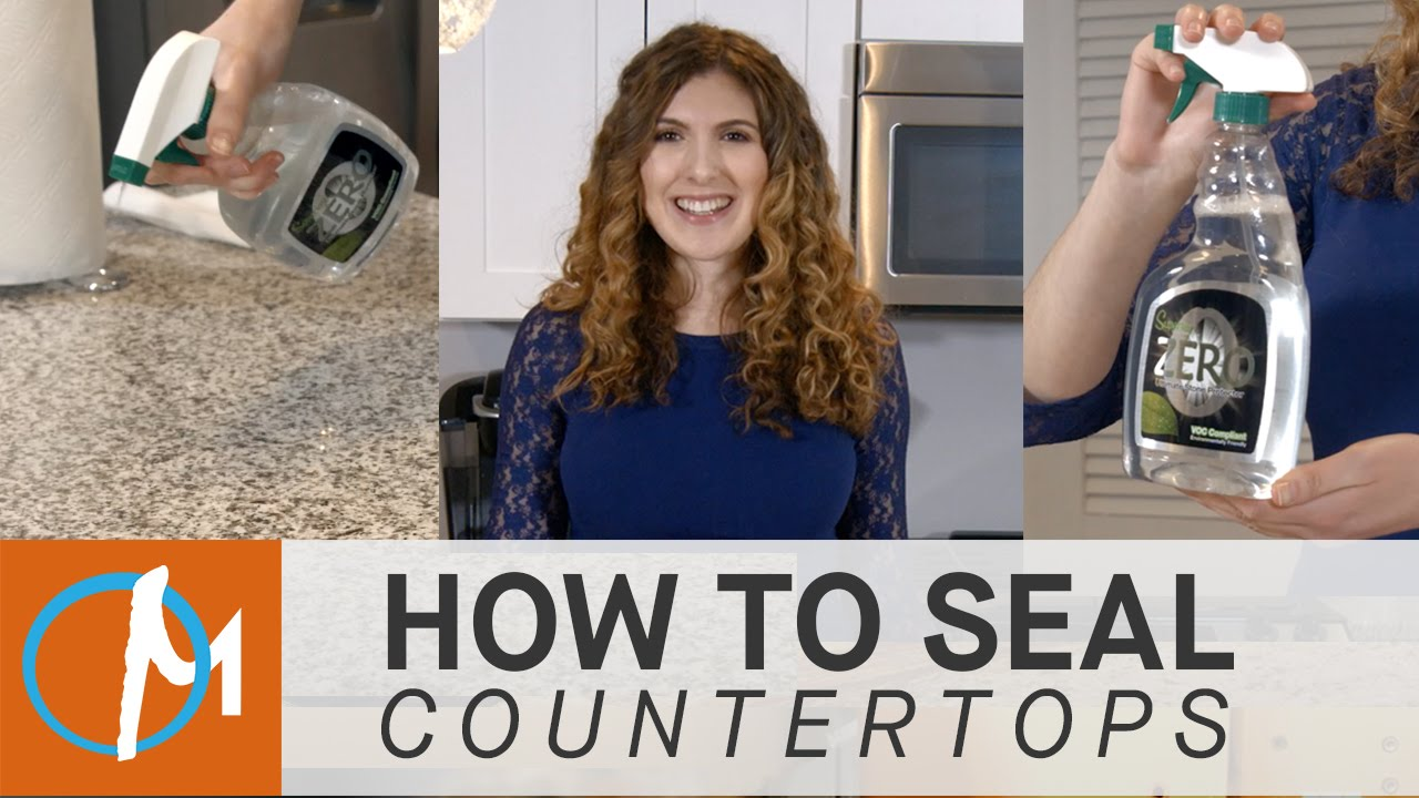 How To Seal Granite Marble Other