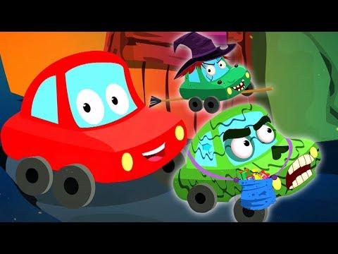 Кошелек или жизнь | хэллоуин рифма | потешки и дети видео | Trick Or Treat | Little Red Car Russia