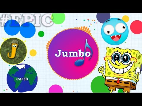 Agar.io | AWESOME MOMENTS IN AGARIO (+Jumbo Song)