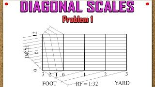 Diagonal Scales Problem 1